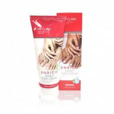 [3W CLINIC] Крем д/ног Enrich Lovely Foot Treatment, 150мл